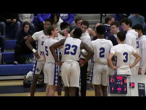 Boys Basketball Ellenville HS vs. Dobbs Ferry HS 3/6/19