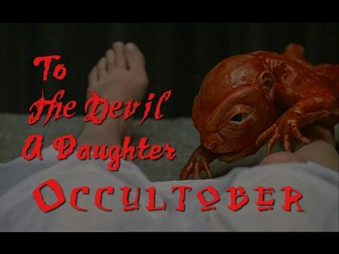 To The Devil A Daughter (1976) review. Christopher Lee. Hammer Horror. Dennis Wheatley