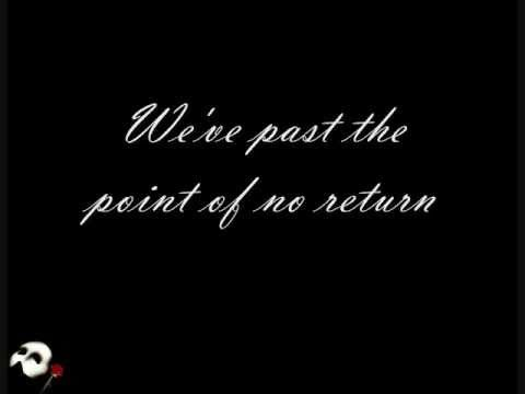 The Point of No Return w/ Lyrics