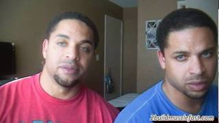 Can You Build Muscle Lifting Light Weights @hodgetwins