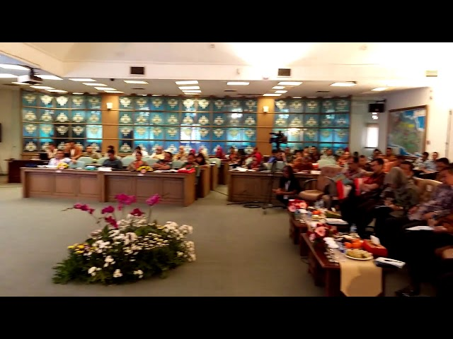 Virtual Musrenbang program at West Java Government 2
