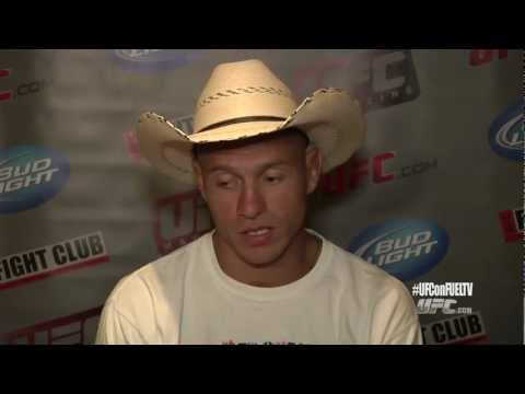 UFC ON FUEL TV: Cowboy Cerrone vs Jeremy Stephens Interview