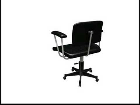 Chaise de bureau 3d youtube for Chaise youtubeur
