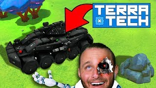 NEW TECH!! (Upgrading All The Things!) - TerraTech #12 thumbnail