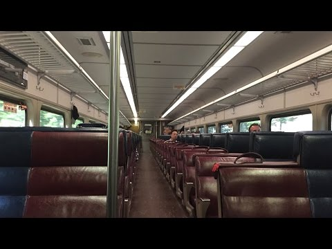 MBTA Commuter Rail HD 60 FPS: Riding Behind MPI HSP46 2008 Between Ruggles & Readville (9/15/16)