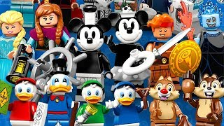 Baixar LEGO Disney Minifigures series 2 reveal! Overview & thoughts