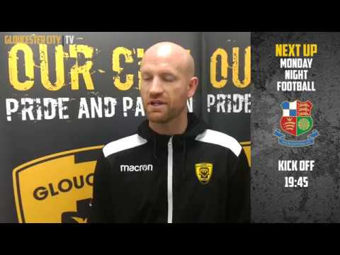 Post Match Interview with Marc Richards against Concord Rangers