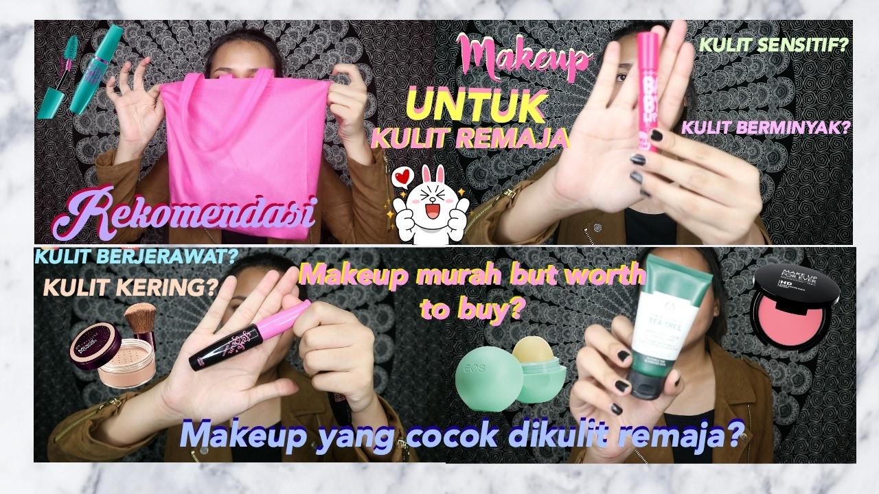 Rekomendasi Makeup Buat Remaja Anak Sekolah Dinda Shafay Bahasa Youtube