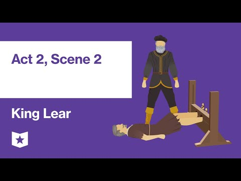 King Lear By William Shakespeare | Act 2, Scene 2