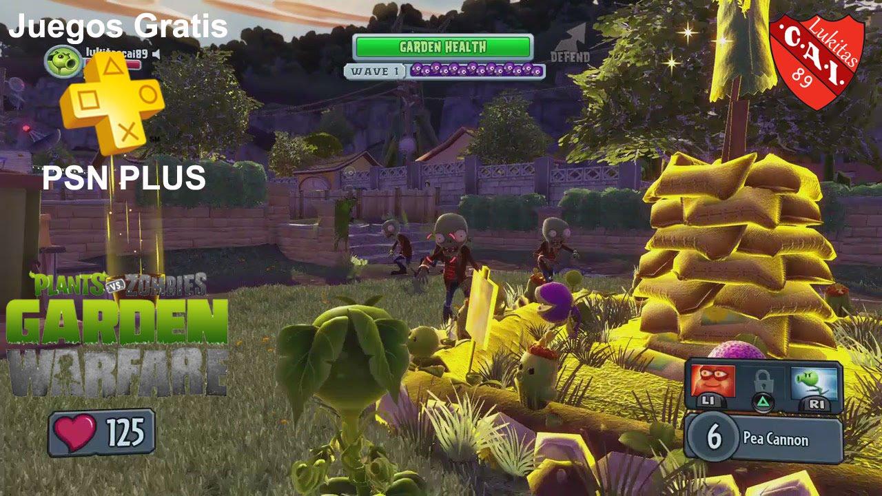 Plantas Vs Zombies Garden Warfare Review Juegos Gratis Psn Plus