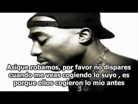 Tupac - i wonder if heaven got a ghetto (Remix) subtitulada traducida