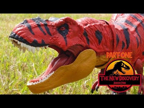 The New Discovery: Jurassic Park (Toy Movie REMAKE) Part 1/6