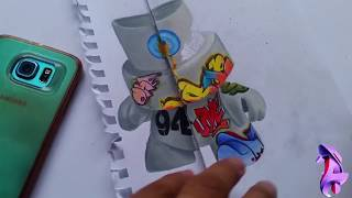 Graffiti 3D animado/ Sketch Graff 2018