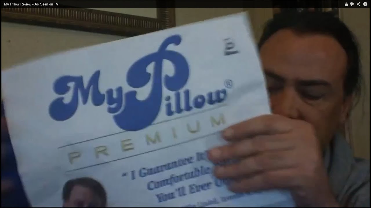 My Pillow Review  As Seen on TV  YouTube