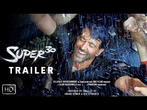 Super 30 – Trailer   Hrithik Roshan   Mrunal Thakur   Pankaj Tripathi   June 4 2019