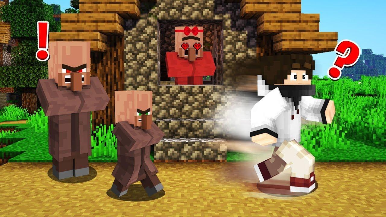 KÖYLÜ AİLESİ  - Minecraft HARDCORE Survival Bölüm 40