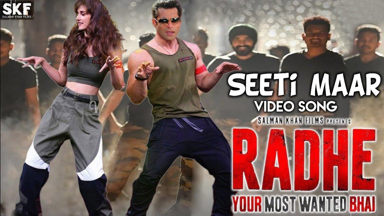 Seeti Maar Video Song | Radhe Your Most Wanted Bhai | Salman Khan | Disha  Patani - YouTube