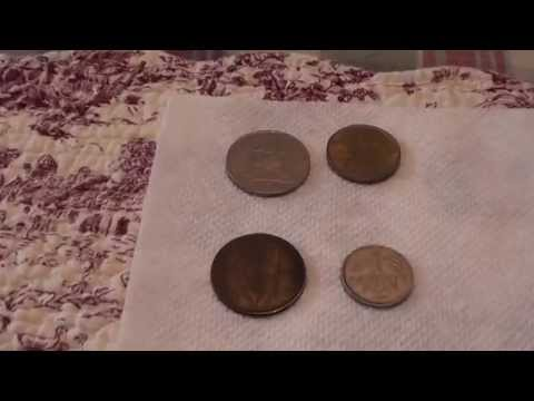 World Coin Junk Box Finds - Cherry Picking 2/27/15 - Numismatics with Kenny