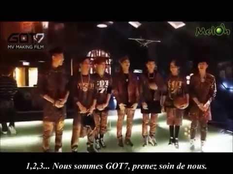 140120 GOT7 - Girls Girls Girls ( MV Making film ) ( VOSTFR )