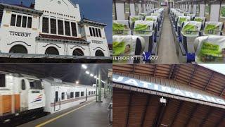 A Trip from Jakarta to Cirebon by Cirebon Ekspres Executive Train