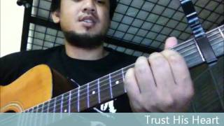 Trust His Heart   Acoustic Guitar Cover