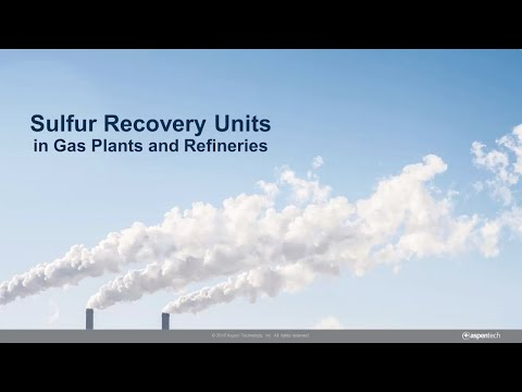 Sulsim Sulfur Recovery in Aspen HYSYS: Optimize the Entire Gas Plant