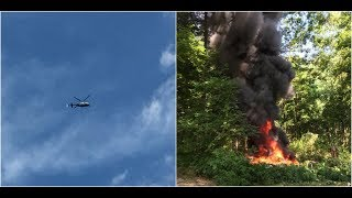 BREAKING NEWS: Police Helicopter Crashes in Charlottesville Virginia As Police Enforce Law and Order