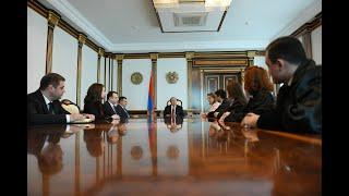 4 նորանշանակ դատավորները երդվել են նախագահի նստավայրում