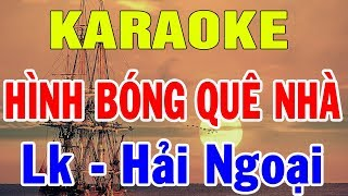 Karaoke Liên Khúc Hình Bóng Quê Nhà Cha Cha Cha Hải Ngoại | Karaoke Nhạc Sống Thôn Quê | Trọng Hiếu