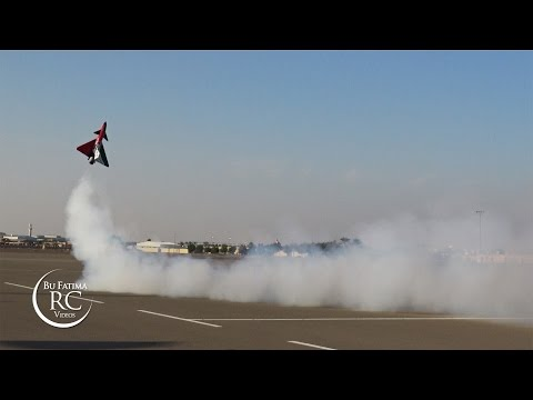 Amazing Air Show by JAMAL flying CARF J10 Jet - UAE Top Jets 2015