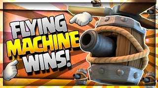 AMAZING FLYING MACHINE DECK that WINS!! Best Flying Machine Arena 10 - 11 Strategy - Clash Royale
