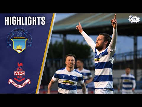 Morton Airdrieonians Goals And Highlights