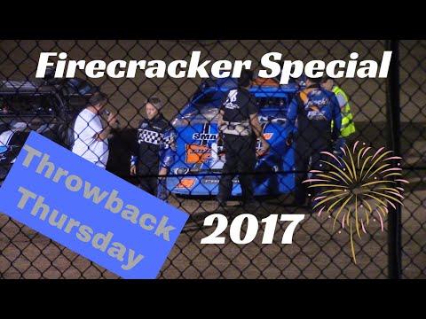 Throwback Thursday / Jeff Brauer / Rice Lake Speedway / July 3rd, 2017