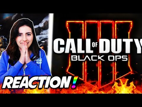 CALL OF DUTY BLACK OPS 4 REVEAL TRAILER REACTION! (COD BO4 MULTIPLAYER, ZOMBIES & BLACKOUT REACTION)