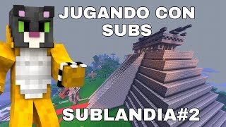 Minecraft pe con subs sublandia