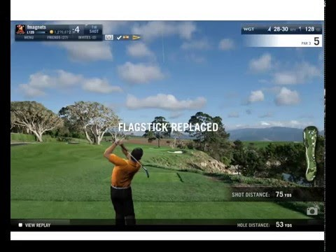 WGT World Golf Tour 100th Hole In One on the 5th at Pebble Beach