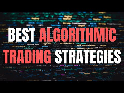 Top 6 Algorithmic Trading Strategies!