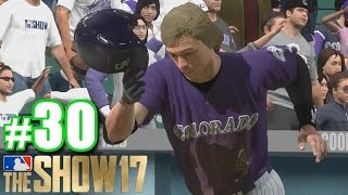 SHOWING OFF THAT RETRO HAIR!   MLB The Show 17   Road to the Show #30