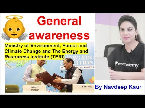 Dec NET | General awareness Ministry of Environment, Forest and Climate Change