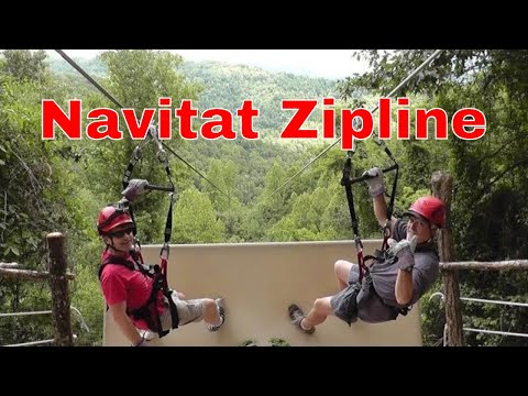 Navitat Zipline Canopy Adventures HD New Blue Ridge Experience