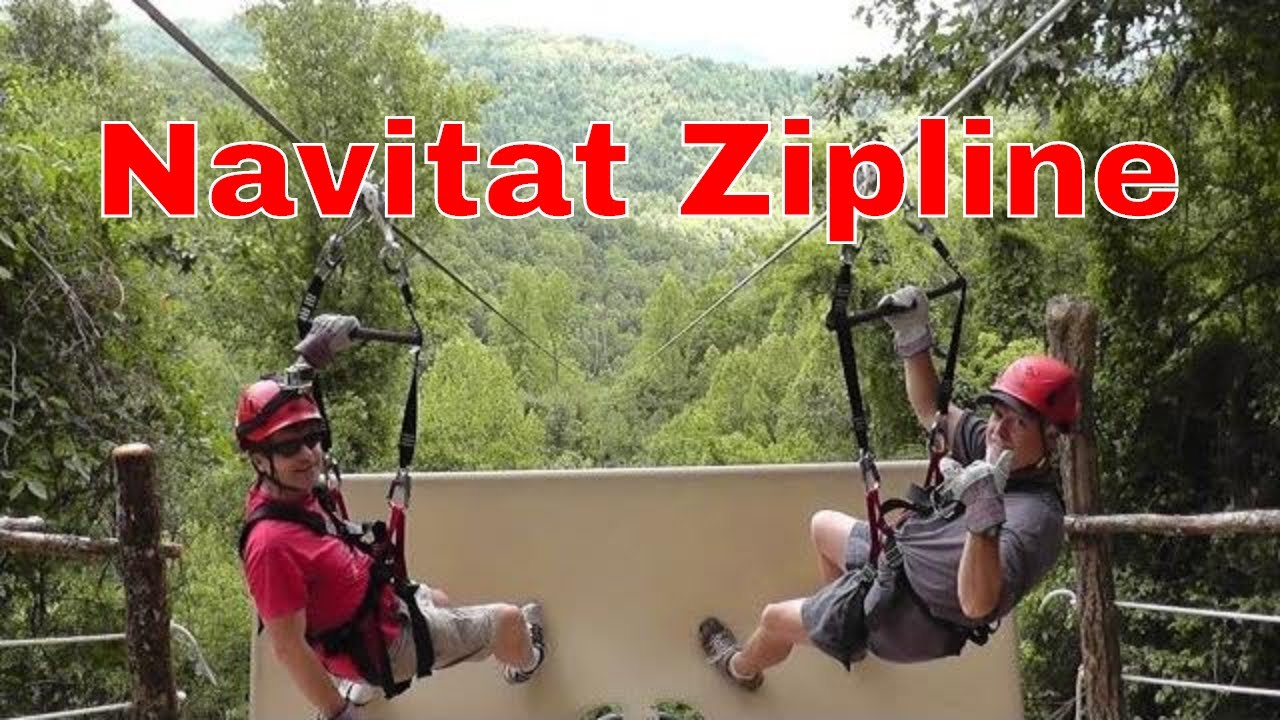 Navitat Zipline Canopy Adventures HD New Blue Ridge Experience
