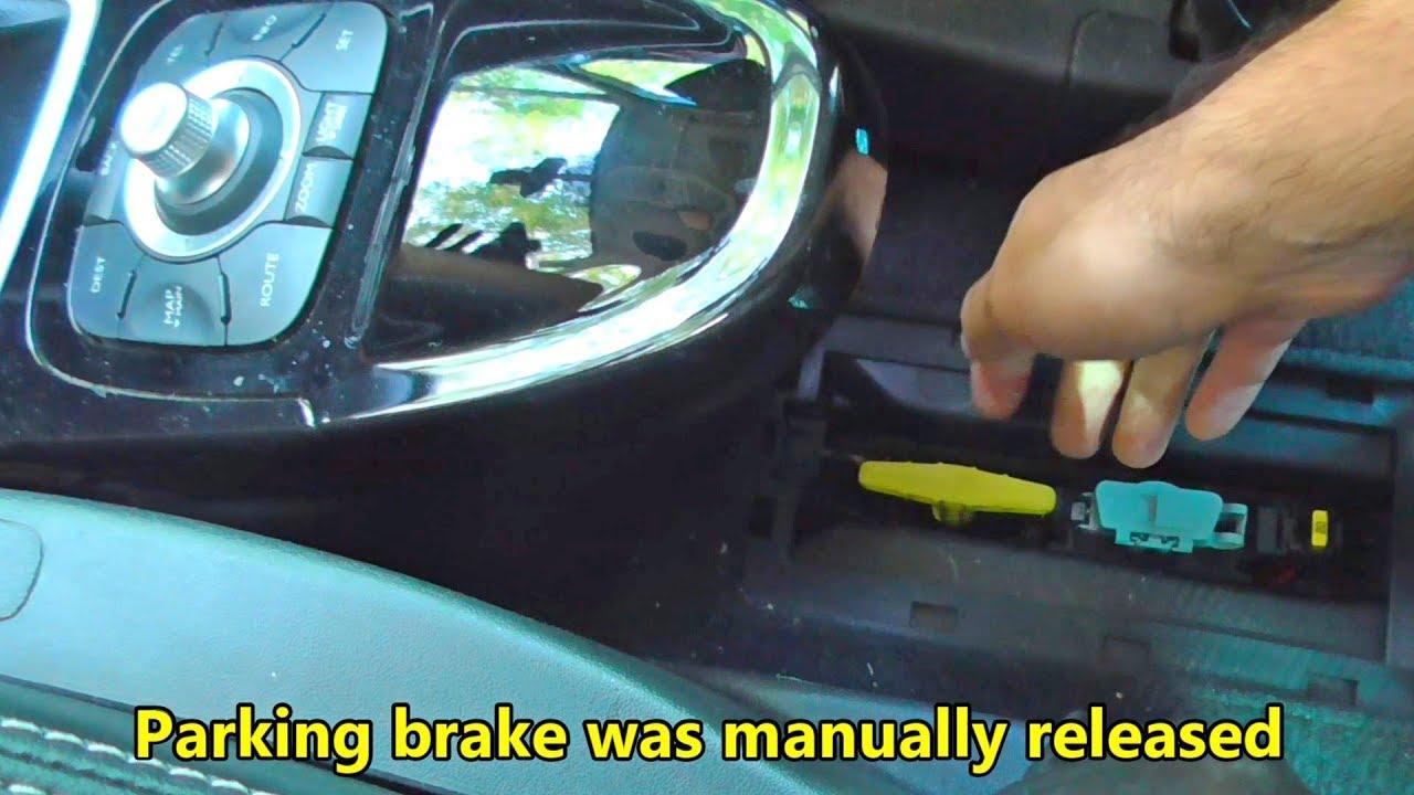 ABS Brake Release Handle Parking Handle Brake Release Handle Assembly Parking Brake Release Handle