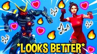 These Fortnite Dances Look Better With These Skins..!
