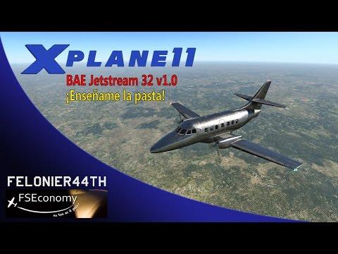 Xplane11 | BAE Jetstream 32 v1.0 | Ganando pasta en FS Economy