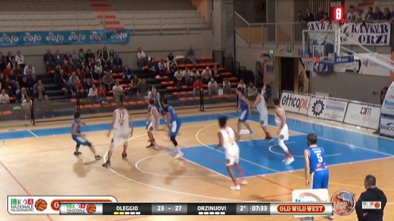 Basket Serie B Playoff Gara 2 Oleggio Vs Agribertocchi Walcor ...
