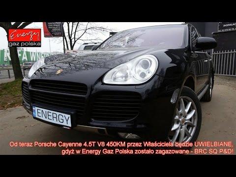 Montaż LPG Porsche Cayenne 4.5 Turbo V8 450KM  2006r w Energy Gaz Polska na LPG BRC SQ P&D!