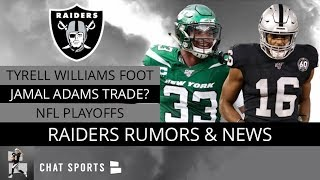 Tyrell Williams Injury Update, Jamal Adams Trade Rumors & Are The Raiders Playoff Contenders?