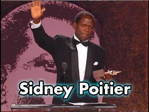 Image result for sidney poitier afi life achievement award