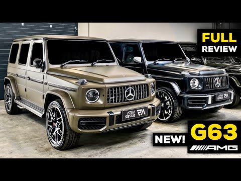 2020 MERCEDES G63 AMG NEW G Class V8 FULL REVIEW BRUTAL Sound Exhaust Interior Infotainment