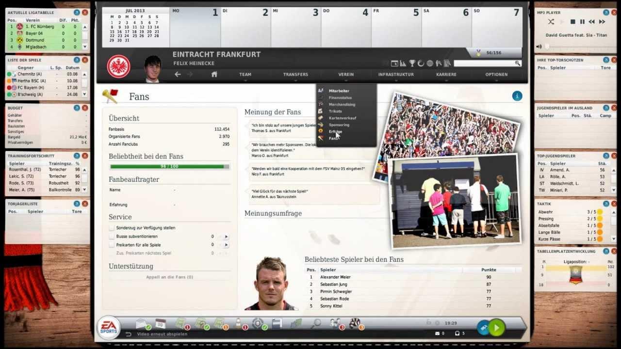 Fifa manager 2007 taktik florian poteau fifa 18